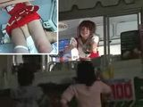 Japanese Girls Selling Ice Cream Under Awful Conditions