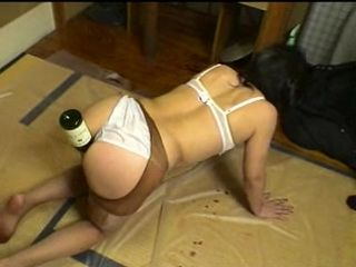 Drunk Japanese Granny Abused and Fucked By Some Young Guys
