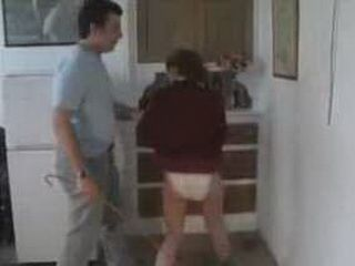 Stepfather Caught Teen Stepdaughter Doing Wrong Things And Punished Her