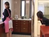 MILF Housewife Yumi Kazama Is Driving Crazy Husbands Two Young Cousins