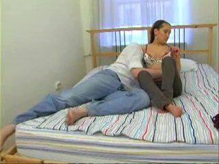 Russian Boyfriend Visited His Teen Girlfriend