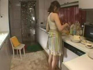 Unusual Day In The Kitchen For Japanese Woman