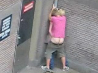 Amateur British Teenagers Taped Fucking in Public