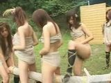 Strange Punishment In Savage Girl Tribe