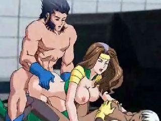 X-Man Cartoon Porn Video