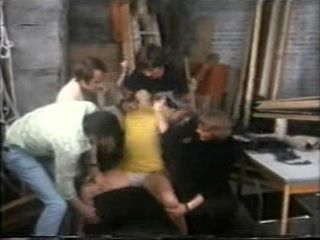 Screaming Teen Brutally Molested By Bunch Of Guys - Retro Rape Porn Fantasy Reupload