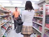 Hot MILF Groped And  Fucked by Strangers At Supermarket