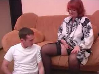 Mature Mother Seduces Boy With Smell Of Her Pussy