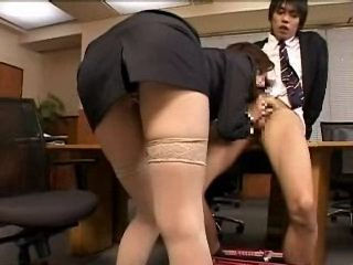 Every Deacent MILF Secretary Needs To Take Care That Young Boss Balls Are Always Empty