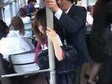 Teen Gets Groped and Fingered In japanese Bus By Old Pervert Stranger