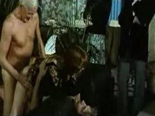 Grandpa Father Son and Their Slutty Maid Retro Porn part 2