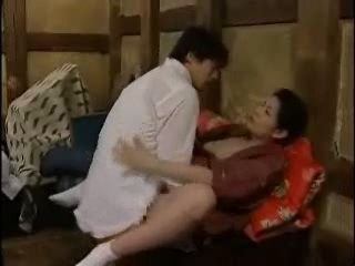 MILF In Kimono Gets Fucked By Husbands Cousin From a Distance City