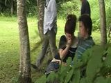 Students Taped Fucking In Public Park