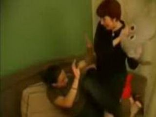 Stepmom Got Crazy Cause She Caught Son Jerking In Living Room