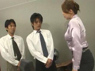 Harsh MILF Boss and Her Boys Employees