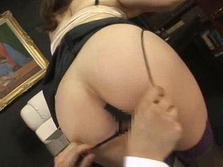 Asian MILF Secretary Gets Fucked In Office By Her Boss