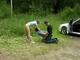 Crazy Couple Picked Up And Molested Girl From The Road In The Woods