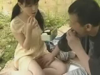 Japanese Man Grabbed Wife In The Field