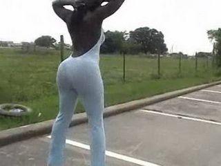 Ebony Booty Outdoor