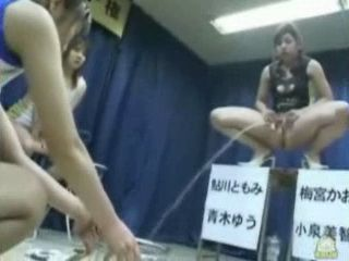 Japanese Girls Pee Contest