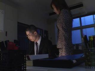 Newbie Employee Gets Rewarded Well By MILF Secretary For Hard Afterhours Work at Office