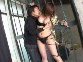 Business Woman Jailed In Basement Tied and Fucked