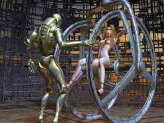 Blonde Milf Damaged Hot Aliens Body