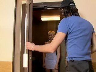 Guy Met Neighbors Young Wife In Elevator