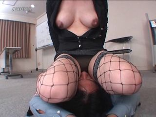 Boss Breastfeeded Violated With Face Sitting and Got Blowjob At The End From His MILF Secretary