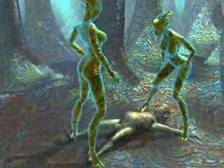 Avatar Milfs Abusing Poor Man