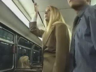 Blonde Teen Grabbed Teachers Cock In School Bus
