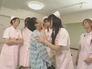 Japanese Nurses Molesting New Patient On Clinic
