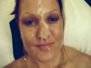 humiliated facial onto my girlfriend face