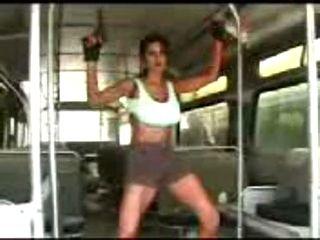 Lara Croft Striptease