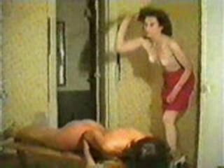 Retro Lesbian Wiping