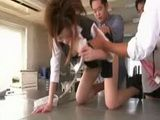 Iroha Kawashima gets wet by a dildo