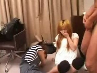 Japanese Teens has Weird Way to have Fun