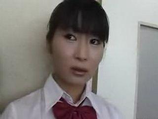 Naked in school Japanese Studentgirls under observation