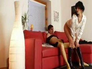 Hot babe Tera Joy having nylon pantyhose sex