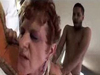 47 yr old Mature in Interracial Vid