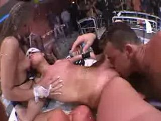 Brazil party orgy hard fuck