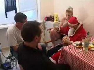 Dad invite Santa for daughter xLx