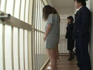 Vagina Check Up at Jail