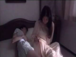 Boy Cums In Pants While Sleeping With Mom