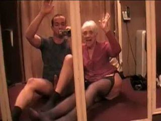 Slutty Oma Successfully Fucked By Much Younger Man In Hotel Room Fool Of Mirrors