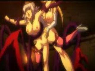 Roped hentai Princess bigtits fuck