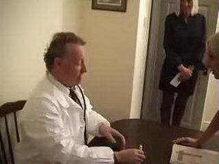 Blonde Daughter Insisted From Doctor To CheckHer Moms Ass