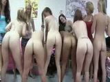 Lesbians on parade during initiation
