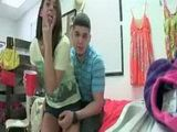 Sexy Teenage Coeds In Lingerie Licking