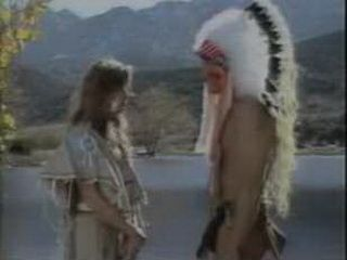 Indian chief saw white woman for the first time